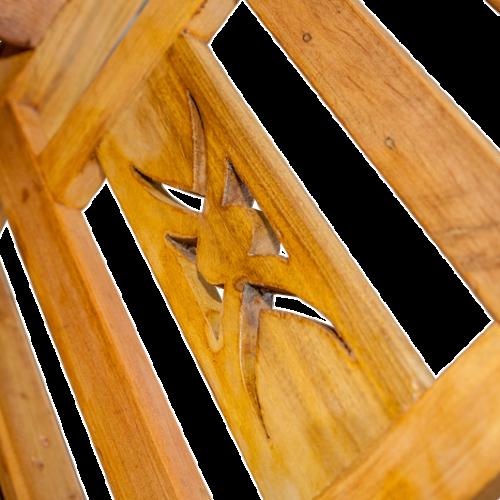 Banco Bali 2 lugares de madeira 1 – 544
