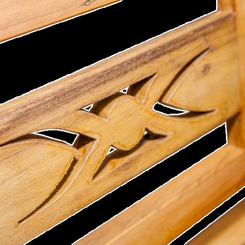 Banco de madeira 2 lugares Bali – 544