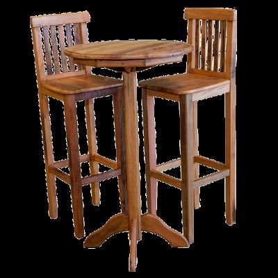 Cadeira de Madeira Estilo Bistrô Modelo Estação 4 - CAD212