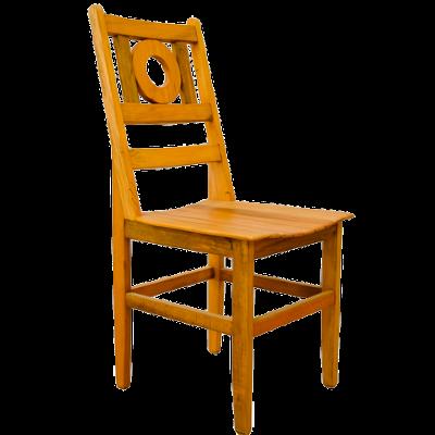 Cadeira de Madeira Modelo Bola 2 - CAD021