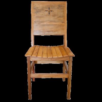 Cadeira de Madeira Modelo Dallas - CAD041