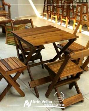 jogo de mesa dobravel mesa dobrável cadeira dobrável conjunto de mesa para bar conjutno de mesa para lanchonete onde comprar móveis para bar e restaurante indaiatuba