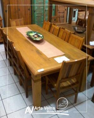 mesa de madeira direto da fábrica mesa em taubaté mesa de madeira de demolição taubaté